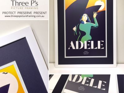 Adele Limited Edition Poster Sydney 2017